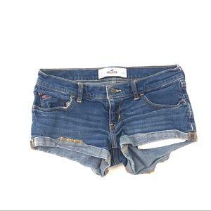 Hollister Junior's  Blue Jean Shorts 3